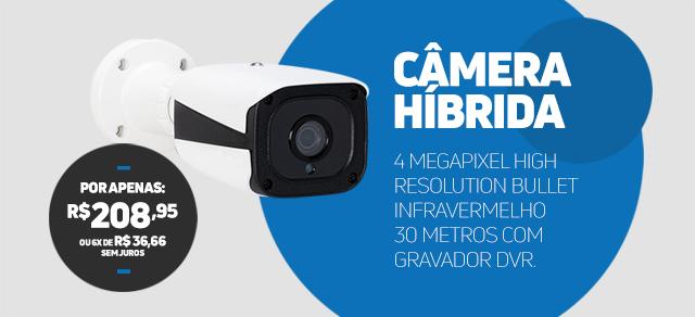 Câmera 4 megapixel
