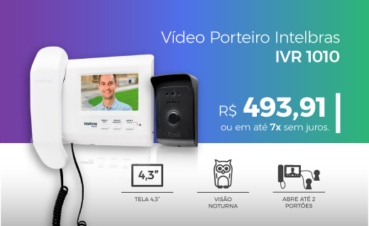 Vídeo porteiro ivr 1010 mini banner2