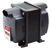 Auto Transformador Bivolt Automático C/ Protetor Térmico - 2000VA (Até 7.000 BTUs)