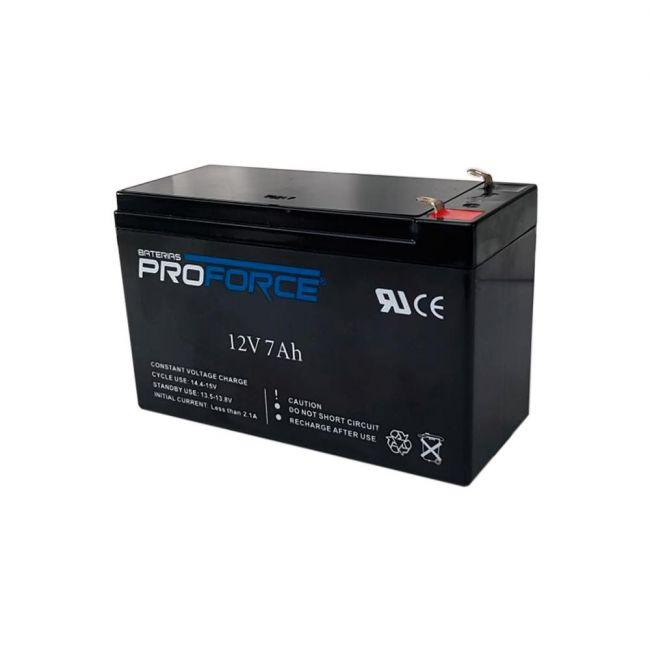 Bateria 7A 12V Recarregável Selada p/ Sistemas de Segurança ProForce