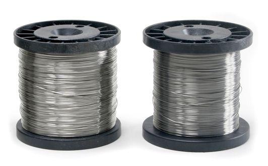Bobina Carretel Fio Aço Inox Para Cerca Elétrica - 0,45mm / 0,60mm / 0,70mm/ 0,90mm