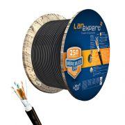 Cabo de Rede Blindado CAT 6E Tripla Capa STP Externo LAN Expert Hercules 2.0 - Bobina 1000 Metros