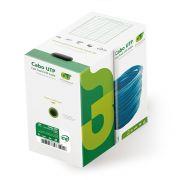 Cabo de Rede De Alta Performance UTP 8 Vias GTS Network CAT 5E - Caixa c/ 305m