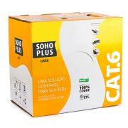 Cabo de Rede Furukawa CAT 6 Soho Plus LAN UTP Caixa Com 305 Metros