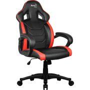 Cadeira Gamer Aerocool AC60C AIR Preto e Vermelho