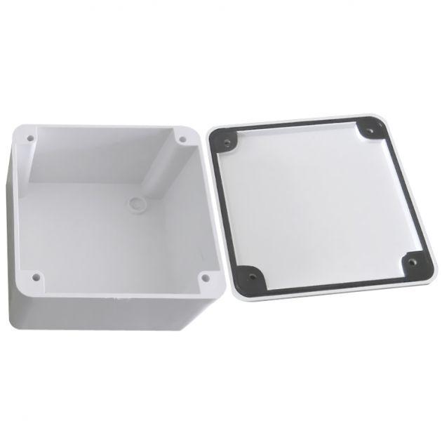 Caixa Hermética Vedada Para Instalações - Protege e Armazena Fonte, Conectores e Fio