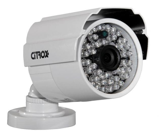 Câmera Bullet Híbrida 4 em 1 High Definition 720p Infravermelho 30 Metros 48 LED's - Citrox