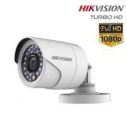 Câmera Turbo HD Hikvision Bullet Metal 2.0 Megapixel HDTVI Infravermelho Full HD 1080p