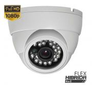 Câmera Dome Full HD 1080p Híbrida 4 em 1 Infravermelho 25 Metros - HB
