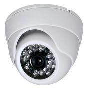 Câmera Dome Flex Híbrida 4 em 1 Infravermelho 25 Metros Lente 2,8mm HD 720p