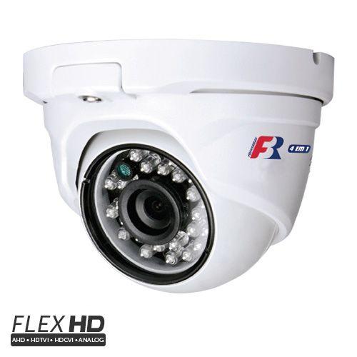 Câmera Dome Full HD 1080p Infravermelho 25 Metros 2,8mm Flex HD - FocusBras FBR