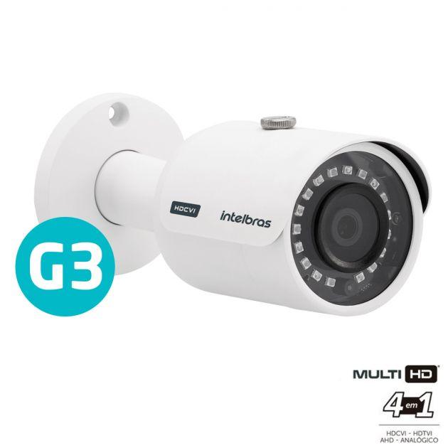 Câmera Multi HD Intelbras VHD 3230 B G3 Full HD 1080p Infravermelho