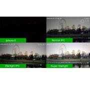 Câmera Híbrida Full HD 1080p Sensor Sony Starlight Infravermelho Colorido 25 Metros