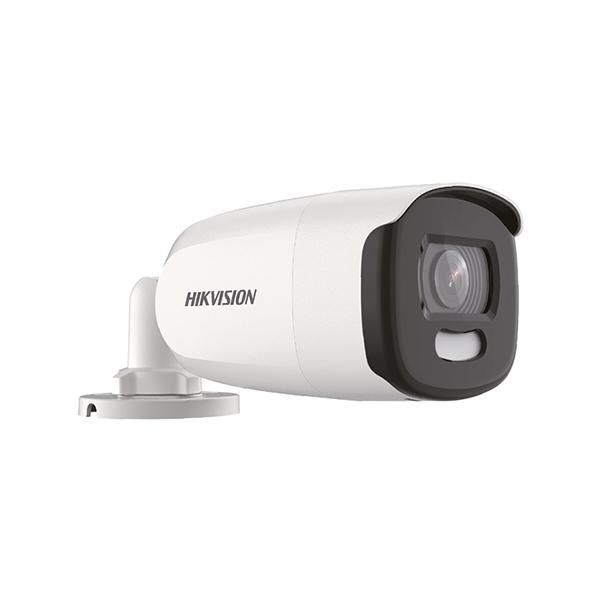 Câmera Hikvision ColorVu DS-2CE12DFT-FC Full HD 1080p Infravermelho Colorido 40 Metros
