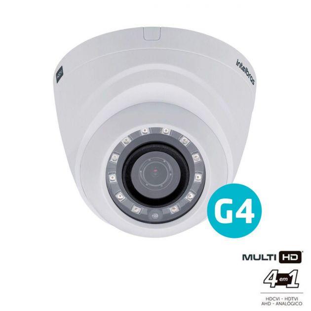 Câmera Multi HD Intelbras VHD 1010 D G4 Dome Infravermelho 10 Metros 720p HD