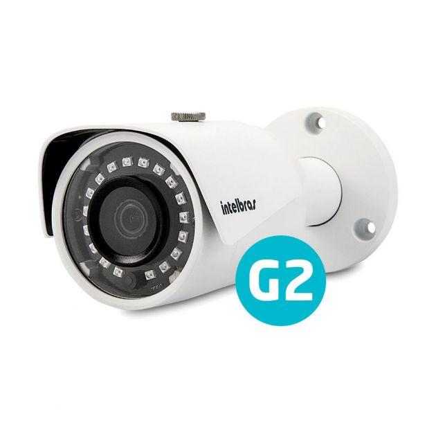 Câmera IP Infravermelho VIP S3330 G2 Bullet 3 Megapixel - Intelbras