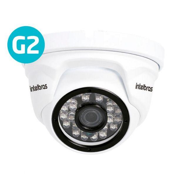 Câmera IP Intelbras VIP 1220 D G2 Dome Full HD 2 MP Infravermelho 20 Metros
