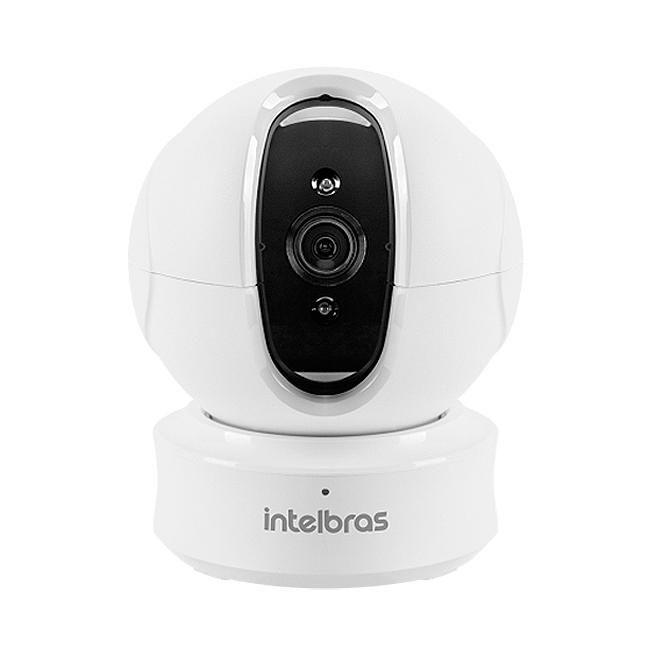 Câmera IP Sem Fio HD Função Pan Tilt 360º Wi-Fi Mibo iC4 Intelbras