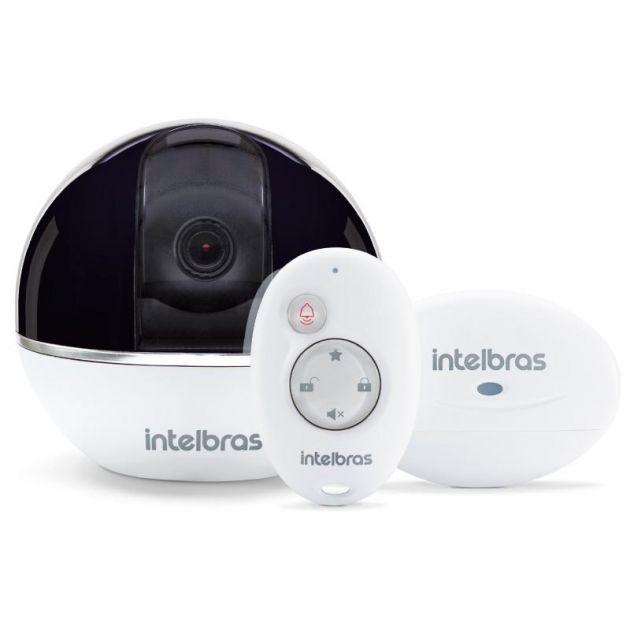 Câmera WiFi Intelbras IC7s Mibo Full HD 1080p Rotacional Com Sensor Tracking e Alarme Integrado