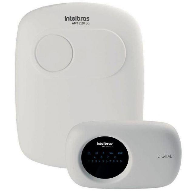 Central de Alarme Intelbras Monitorada AMT 2118 EG Ethernet   GPRS