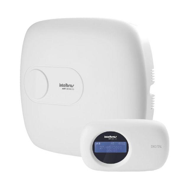 Central de Alarme Intelbras Monitorado C/ Discadora GSM 18 Zonas AMT 2018 EG IP + GPRS