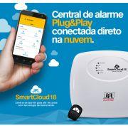 Central de Alarme JFL SmartCloud 18 Monitoramento Completo Via Aplicativo