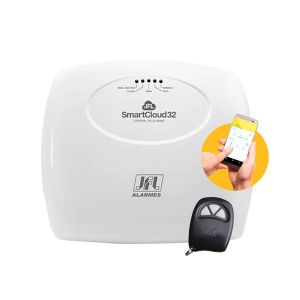 Central de Alarme JFL SmartCloud 32 Wi-Fi e Ethernet Integrado Controlada Via APP