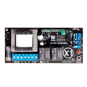 Central de Comando Universal p/ Automatizadores Placa Light X1 IPEC