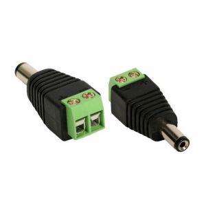 Conectores e Adaptadores CFTV - BNC, P4, RJ45, RCA...
