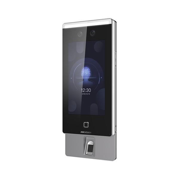Controladora de Acesso Com Reconhecimento Facial, Biometria e RFID Hikvision DS-K1T671MF-L