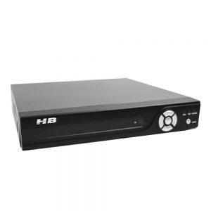 DVR Gravador Digital de Vídeo 8 Canais 1080N Híbrido HB Tech