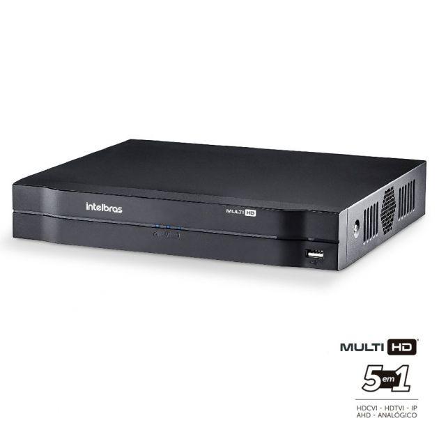 DVR Intelbras Multi HD MHDX 1016 Gravador Digital de Vídeo 16 Canais Full HD 1080N