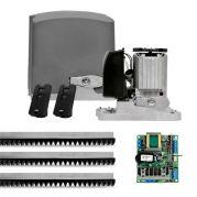 Motor de Portão Rápido Automatizador 1/4 HP Deslizante DZ Rio 400 BLDC Jet Flex PPA