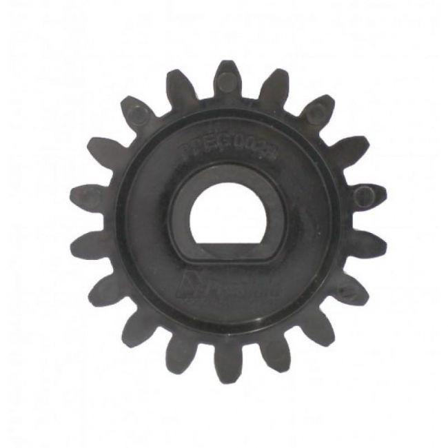 Engrenagem Externa de Nylon Para Motor Deslizante Gatter 3000 Peccinin (Modelo Antigo)