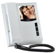 Extensão p/ Vídeo Porteiro Eletrônico HDL Colorido SENSE Classic Branco