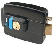 Fechadura Elétrica C90 Dupla C/ Botão Cinza - HDL