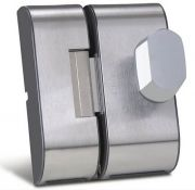 Fechadura Elétrica HDL Para Portas de Vidro Com Rasgo e Abertura Interna PV90 2R-B (Vidro/Vidro)