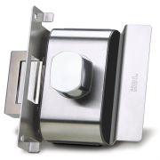 Fechadura Elétrica Para Portas de Vidro Com Furo (Vidro/Alvenaria) PV90 1F-B AF Abre p/ Fora - HDL