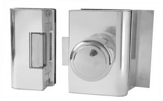 Fechadura Elétrica Porta de Vidro AGL Rasgo - PVR1I (Vidro/Alvenaria) PVR2I (Vidro/Vidro)