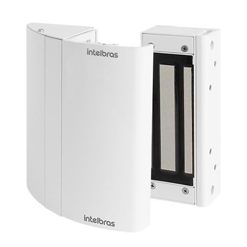 Fechadura Eletroímã Com Sensor FS150 Kit Elite Automatiza Intelbras