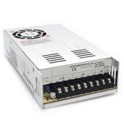 Fonte Eletrônica Chaveada 12V 30A Multicâmeras Bivolt CFTV