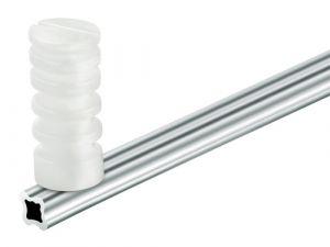 """Haste de Alumínio Tipo """"Estrela"""" com 4 Isoladores 75cm"""