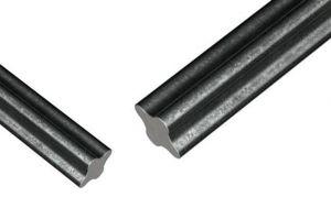 Haste de Ferro Galvanizada 4 Isoladores Tipo Estrela 75cm (Haste Reforçada)
