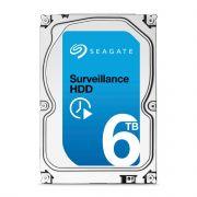 HD Seagate Surveillance 6TB SATAIII 7200RPM Cache 128MB - Para Sistemas de CFTV