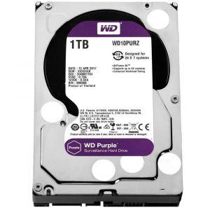 HD Western Digital 1TB WD Purple Surveillance SATA 64MB Cache - WD10PURZ