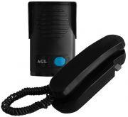 Interfone Porteiro Eletrônico AGL 12 Volts - Preto