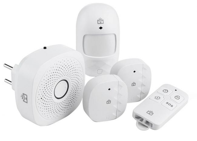 Kit Alarme Sem Fio Casa Segura Positivo Smart Home Controlado Por Smartphone