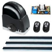 Kit Automatizador Deslizante 1/3 Portão Eletrônico Slider Maxi PLUS Speedy RCG