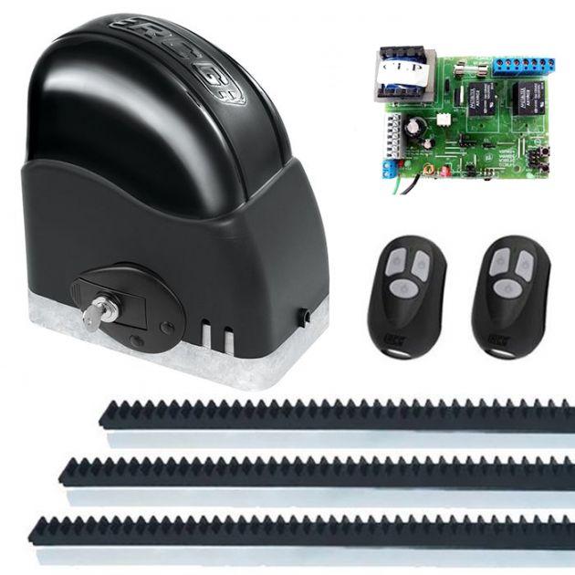 Kit Automatizador Deslizante 1/4 Portão Eletrônico Slider Maxi Speedy RCG