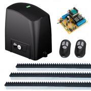 Kit Automatizador Deslizante Motor 1/4 HP Portão Eletrônico Slider Maxi PL RCG